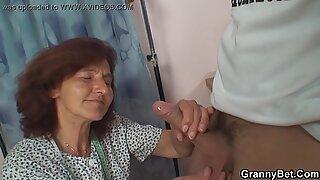 Hairy pussy granny